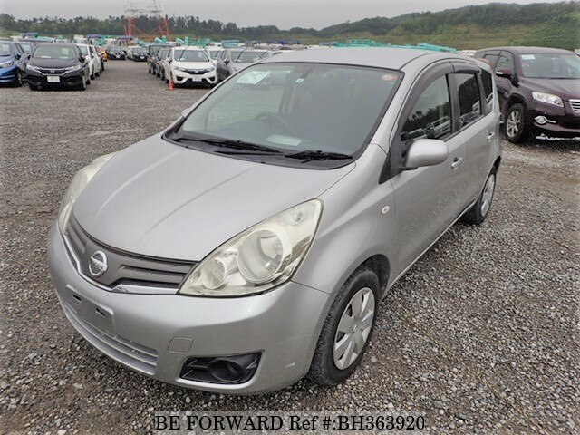 Used 2008 NISSAN NOTE BH363920 for Sale