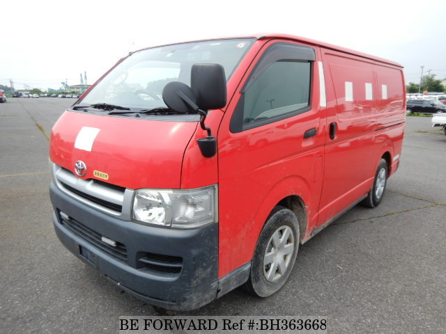 Used 2005 TOYOTA HIACE VAN BH363668 for Sale