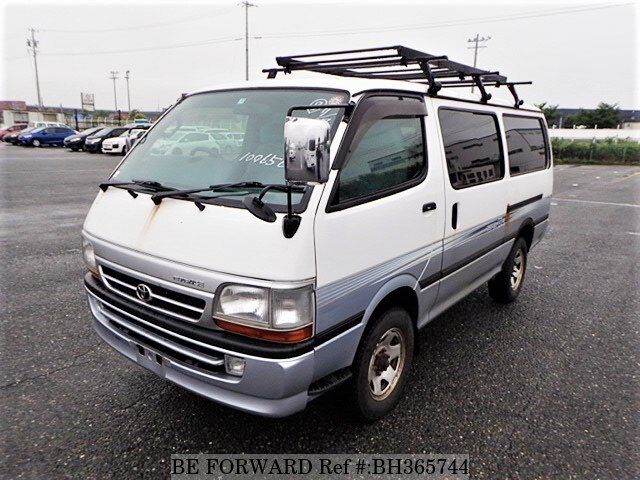 Used 2001 TOYOTA HIACE VAN BH365744 for Sale