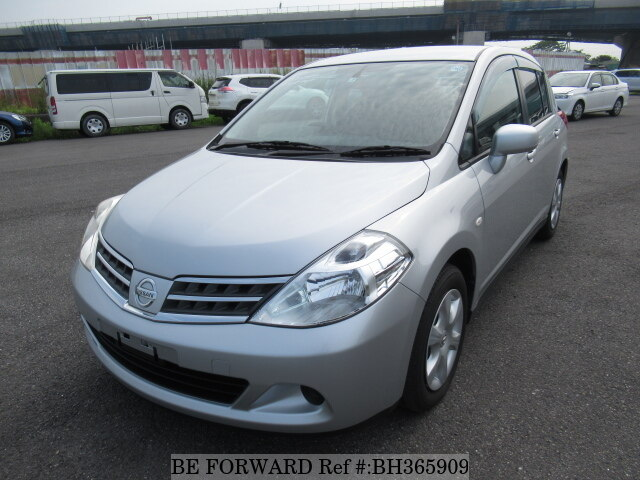 Used 2009 NISSAN TIIDA BH365909 for Sale