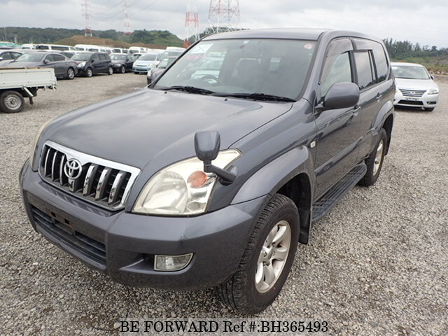 Used 2007 TOYOTA LAND CRUISER PRADO BH365493 for Sale