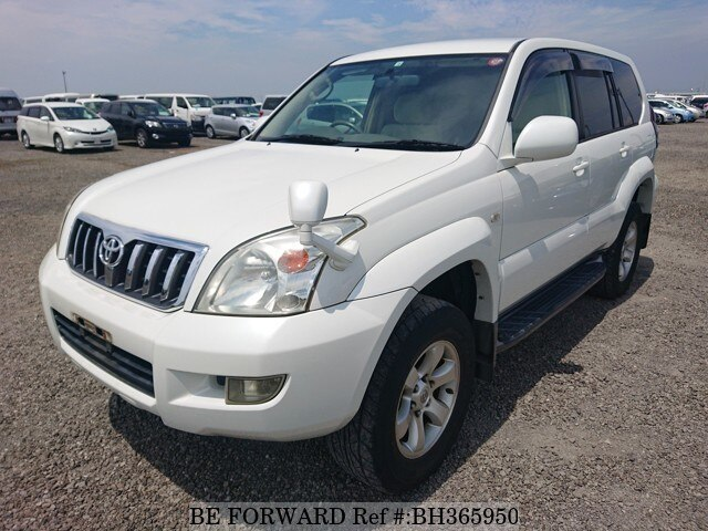 Used 2002 TOYOTA LAND CRUISER PRADO BH365950 for Sale