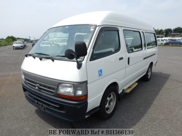 Used 2004 TOYOTA HIACE COMMUTER BH366139 for Sale