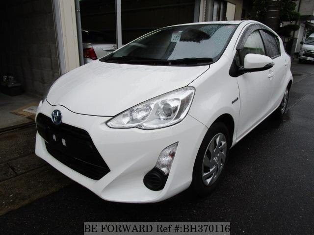 Used 2015 TOYOTA AQUA BH370116 for Sale
