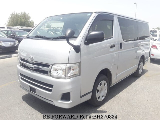 Used 2013 TOYOTA HIACE VAN BH370334 for Sale