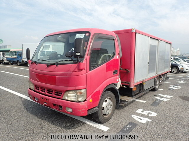 Used 2004 TOYOTA DYNA TRUCK BH368597 for Sale