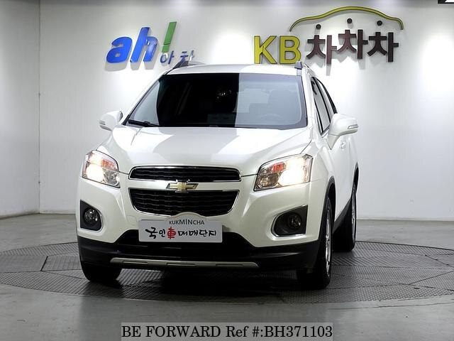 Used 2014 CHEVROLET TRAX BH371103 for Sale