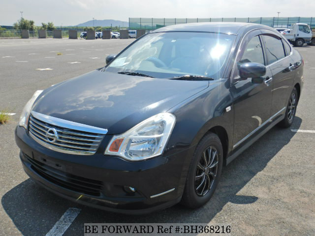 Used 2009 NISSAN BLUEBIRD SYLPHY BH368216 for Sale