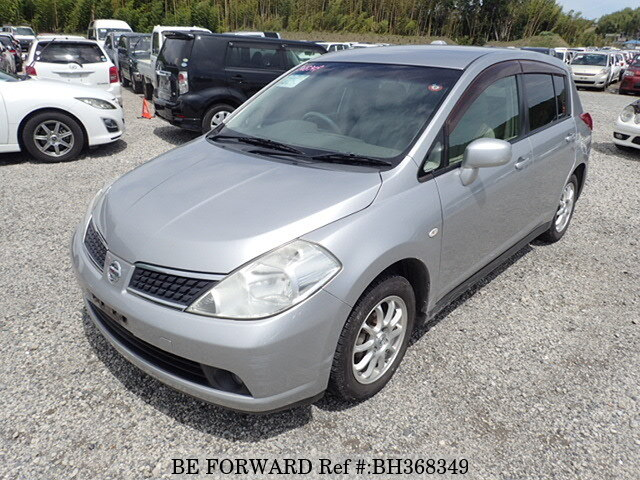 Used 2007 NISSAN TIIDA BH368349 for Sale