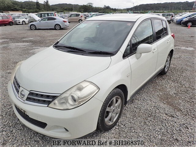 Used 2008 NISSAN TIIDA BH368370 for Sale