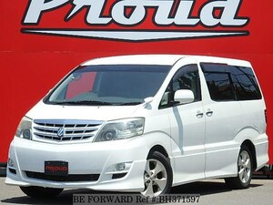Used 2007 TOYOTA ALPHARD BH371597 for Sale