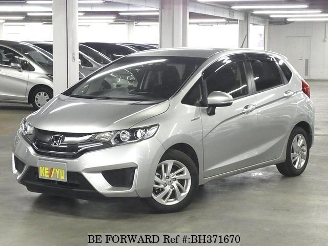 Used 2014 HONDA FIT HYBRID BH371670 for Sale