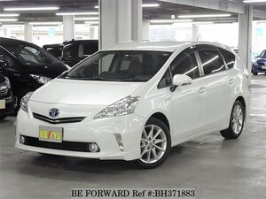 Used 2014 TOYOTA PRIUS ALPHA BH371883 for Sale