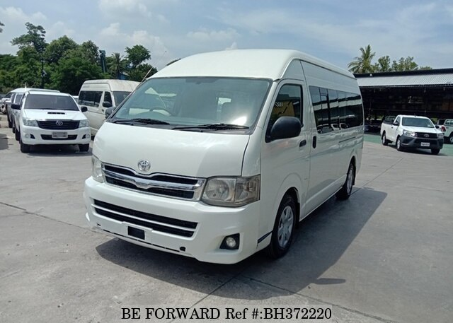 Used 2012 TOYOTA HIACE COMMUTER BH372220 for Sale