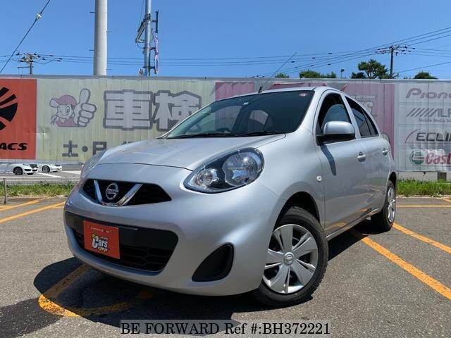 Used 2017 NISSAN MARCH BH372221 for Sale