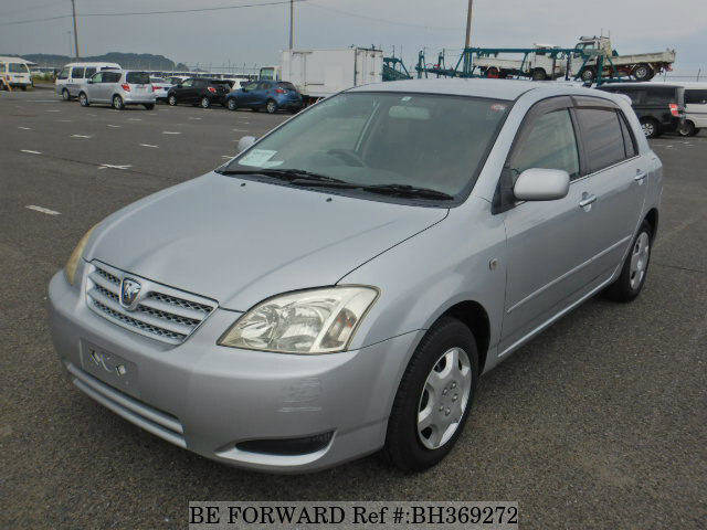 Used 2004 TOYOTA ALLEX BH369272 for Sale