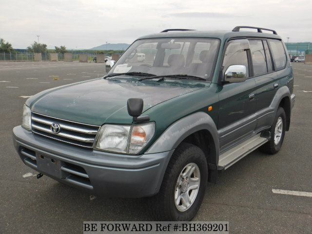 Used 1996 TOYOTA LAND CRUISER PRADO BH369201 for Sale