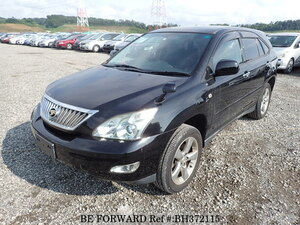 Used 2009 TOYOTA HARRIER BH372115 for Sale