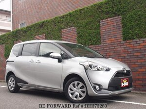 Used 2017 TOYOTA SIENTA BH373280 for Sale