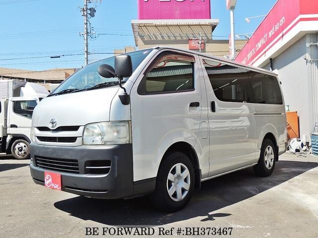 Used 2009 TOYOTA HIACE VAN BH373467 for Sale