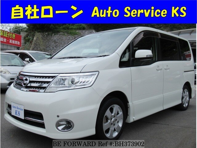 Used 2008 NISSAN SERENA BH373902 for Sale