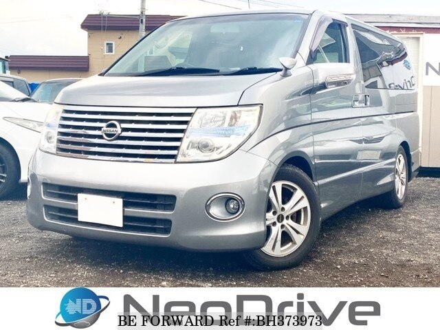 Used 2007 NISSAN ELGRAND BH373973 for Sale