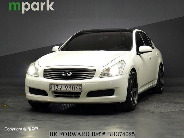 Used 2008 INFINITI G35 BH374025 for Sale