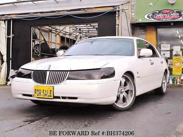 Used 2001 LINCOLN TOWN CAR BH374206 for Sale