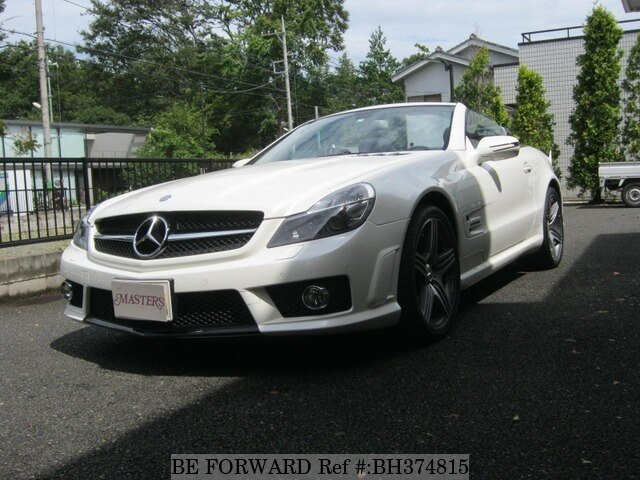 Used 2008 MERCEDES-BENZ SL-CLASS BH374815 for Sale