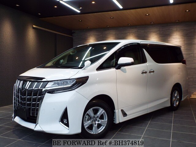 Used 2018 TOYOTA ALPHARD BH374819 for Sale