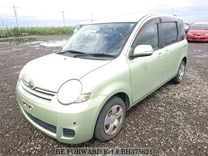 Used 2008 TOYOTA SIENTA BH375621 for Sale