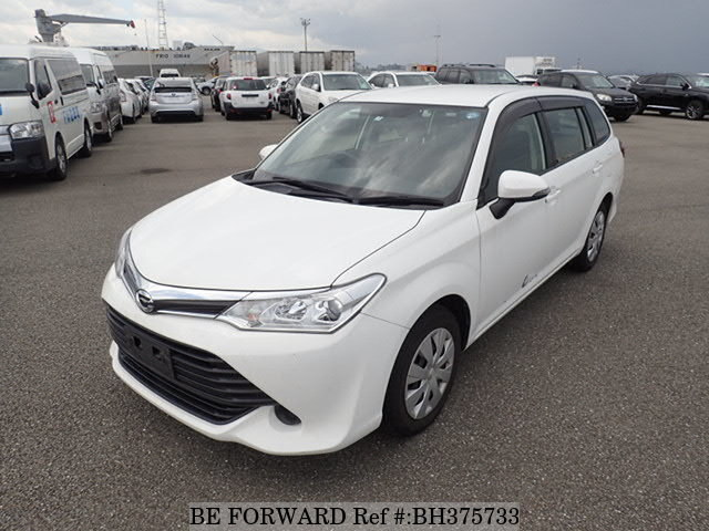 Used 2015 TOYOTA COROLLA FIELDER BH375733 for Sale