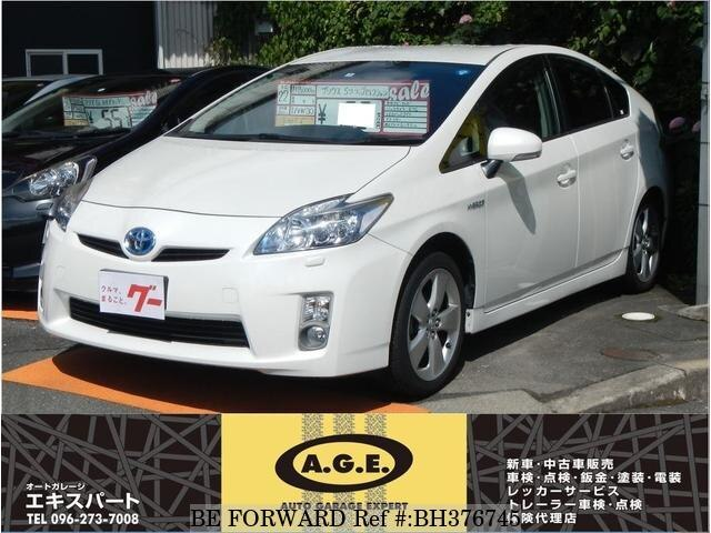 Used 2010 TOYOTA PRIUS BH376745 for Sale