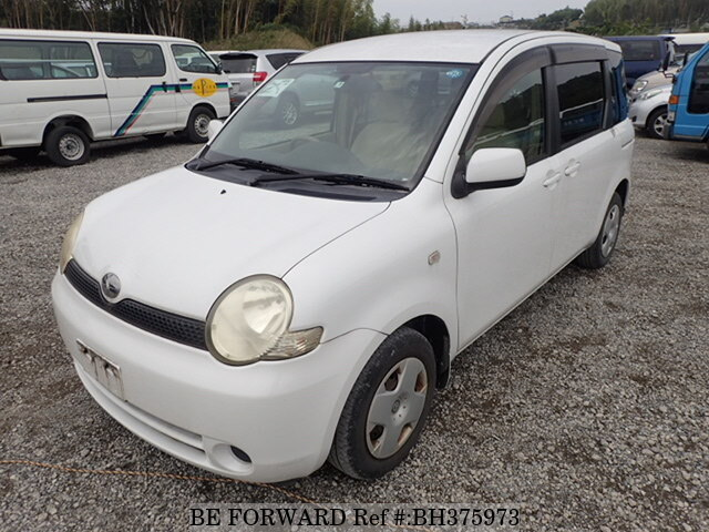 Used 2005 TOYOTA SIENTA BH375973 for Sale