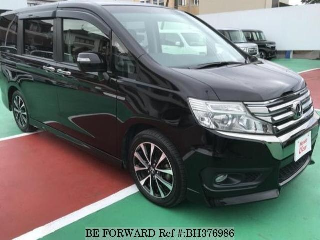 Used 2014 HONDA STEP WGN BH376986 for Sale