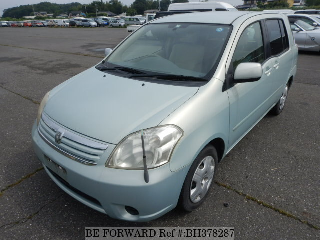 Used 2003 TOYOTA RAUM BH378287 for Sale