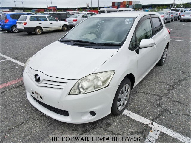 Used 2011 TOYOTA AURIS BH377896 for Sale