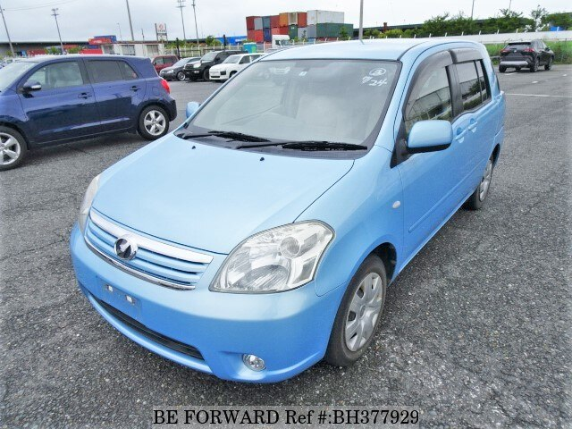 Used 2007 TOYOTA RAUM BH377929 for Sale
