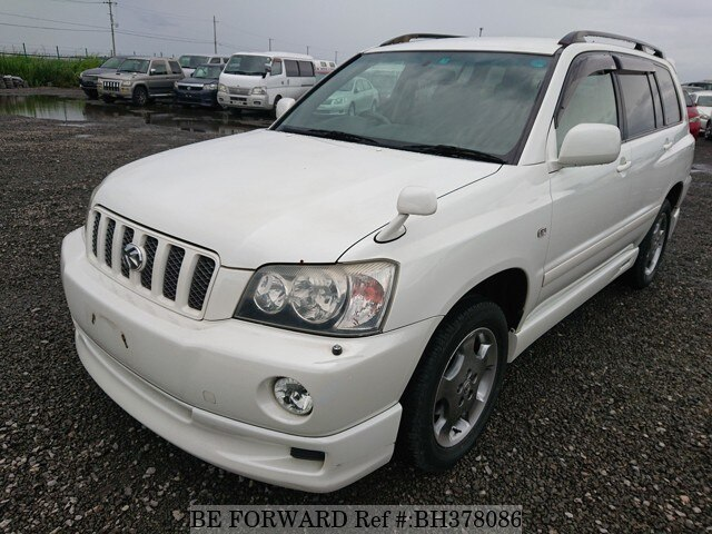 Used 2002 TOYOTA KLUGER BH378086 for Sale