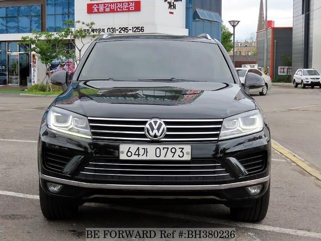 Used 2015 VOLKSWAGEN TOUAREG BH380236 for Sale
