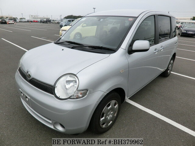 Used 2005 TOYOTA SIENTA BH379962 for Sale