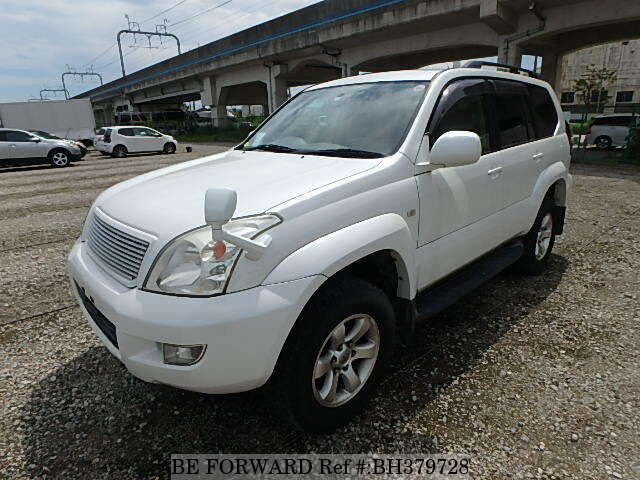 Used 2005 TOYOTA LAND CRUISER PRADO BH379728 for Sale