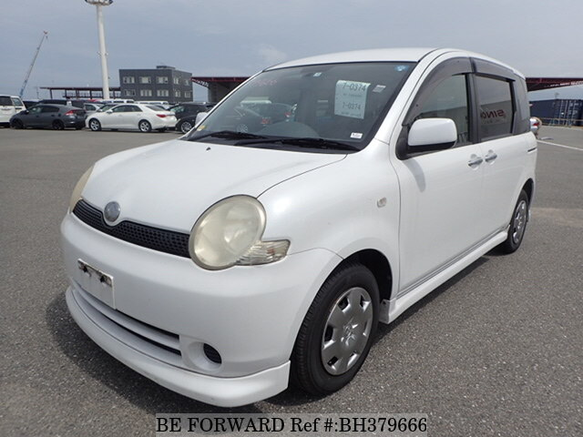 Used 2005 TOYOTA SIENTA BH379666 for Sale