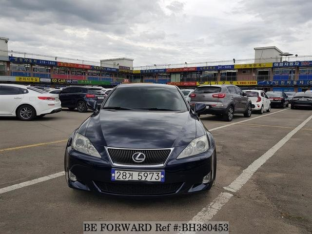 Used 2008 LEXUS IS BH380453 for Sale