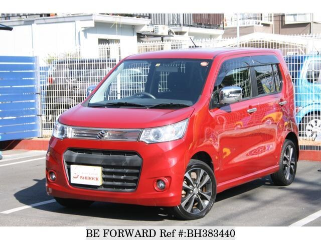 Used 2012 SUZUKI WAGON R BH383440 for Sale