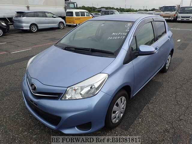 Used 2011 TOYOTA VITZ BH381817 for Sale