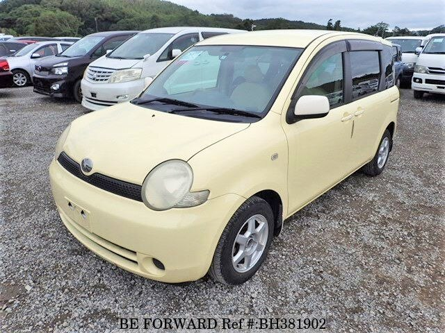 Used 2003 TOYOTA SIENTA BH381902 for Sale