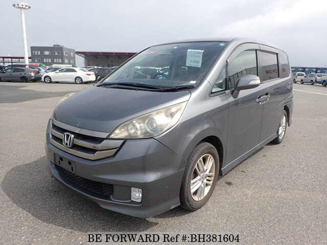 Used 2009 HONDA STEP WGN BH381604 for Sale
