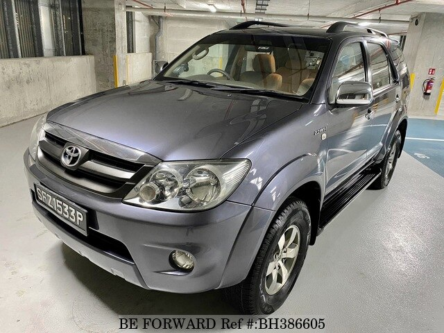 Used 2005 Toyota Fortuner 7 Seater 4x4 For Sale Bh386605 Be Forward