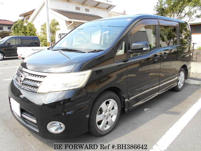 Used 2008 NISSAN SERENA BH386642 for Sale